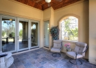 Casita Porch with Wrought Iron