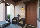 Front Porch and Front Door