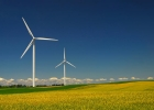 Clean energy from the wind farms of the Midwest